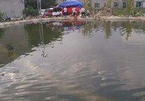 偏石板鱼塘