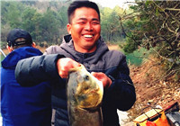 开年第一钓虽有遗憾 但渔获满满