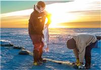 資深釣魚人淺談冰釣選位技巧