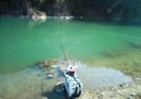 钓鱼时选对钓位是种什么体验