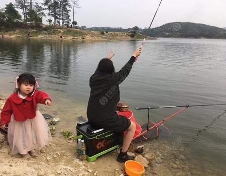 初钓惠女水库之小树林
