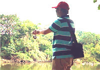 《淡水野鱼野钓》 探钓流溪河(一):人和水闸下游竹林探秘